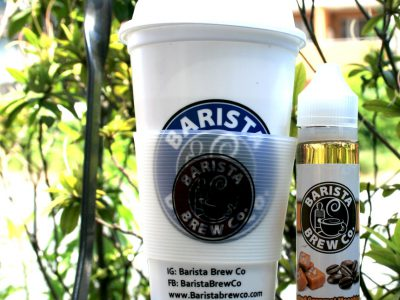 BARISTA BREW Co. (バリスタブリュ)Salted Caramel Macchiato(ソルト キャラメル マキアート)60ml