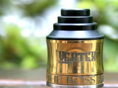 The Boss Mod VERTEX(ベルテックス) CURSED SQUONK RDA Brass