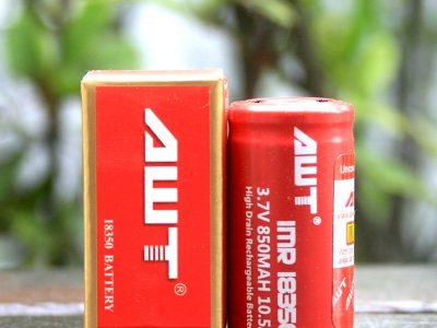 AWT 18350 850mAhバッテリー(電池)