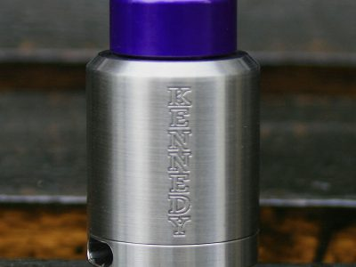 KENNEDY(ケネディ) ANODIZED ALUMINUM FAT DRAGON TIP(ドリップチップ)Purple