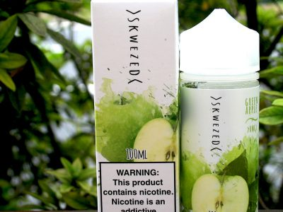 VOLCANO(ボルケーノ) Skwezed E-liquid(スクウィーズド)Green Apple (グリーンアップル)100ml