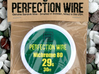 SAITO WIRE Creation/PERFECTION WIRE(パーフェクションワイヤー)Nichrome80  29G
