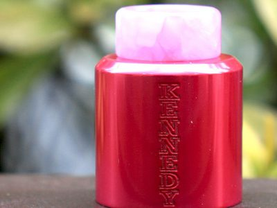 KENNEDY 25 TOP CAPS (Pink Anodized)