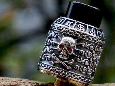 RISCLE (リスクル)Pirate King (パイレーツキング)V2 BF RDA 24mm(Silver Skull)
