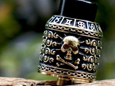 RISCLE (リスクル)Pirate King (パイレーツキング)V2 BF RDA 24mm(Gold Skull)