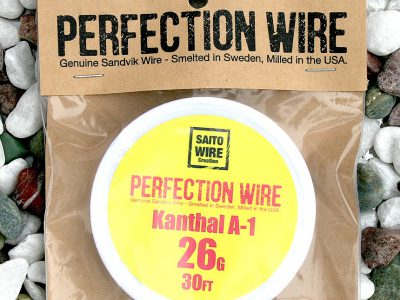 SAITO WIRE Creation/PERFECTION WIRE(パーフェクションワイヤー)Kanthal A-1  26G