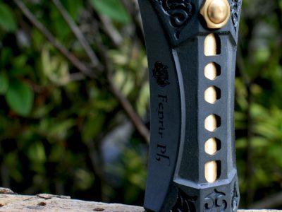 Fenrir(フェンリル) Engraving Mechanical Mod 21700(ブラック)