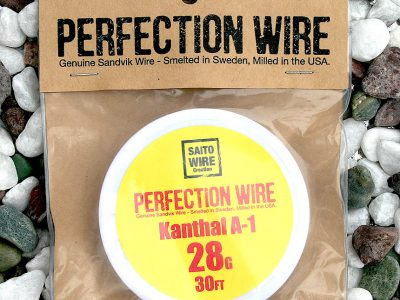 SAITO WIRE Creation/PERFECTION WIRE(パーフェクションワイヤー)Kanthal A-1  28G