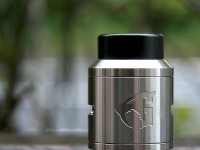Goon V1.5 RDA 24mm By 528 Custom Vapes(シルバー)