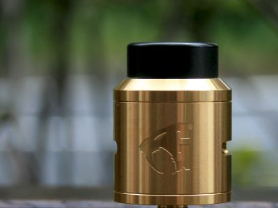 Goon V1.5 RDA 24mm By 528 Custom Vapes(ゴールド)
