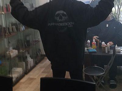 Armageddonパーカー♪お買い上げありがとうございます。