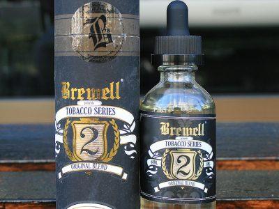Brewell Vapory (ブルーウェル ベーポリー) TOBACCO SERIES No2 ORIGINAL BLEND (オリジナルブレンド) 60ml