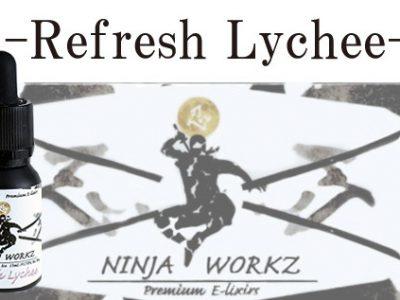 NINJA WORKZ Refresh Lychee 30ml