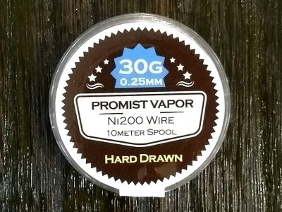 PROMIST VAPOR HARD DRAWN Ni200 30G 0.25mm